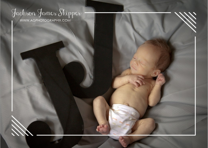Natural Light Newborn Photography | A.G. Photographix | Houston, Texas